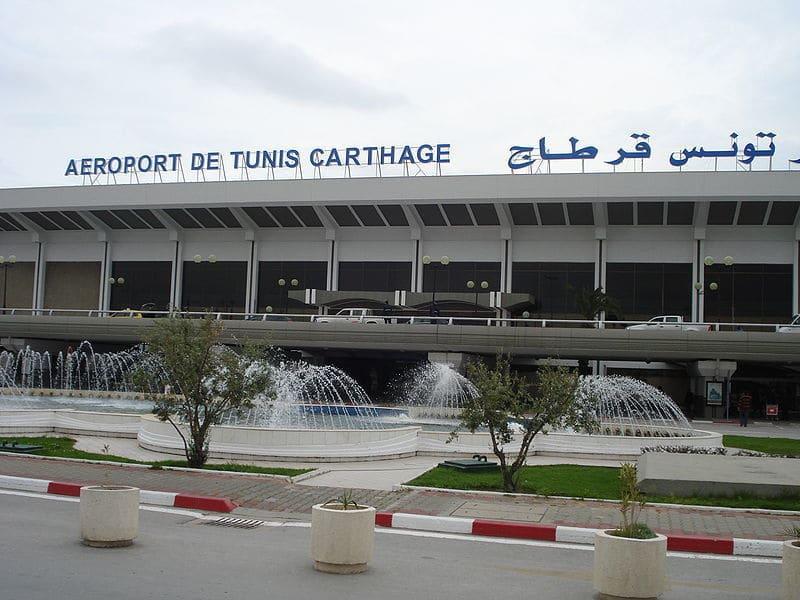 Время полета Омск - Тунис