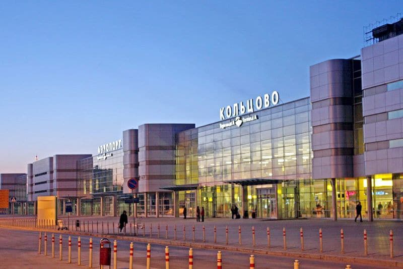 Схема аэропорта Екатеринбурга Кольцово