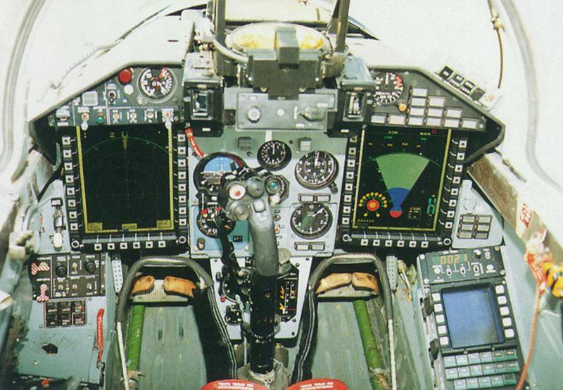 Кабина МиГ-29