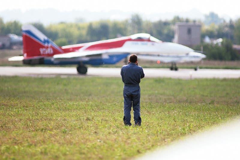 Скорость истребителя МиГ-29