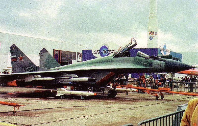 Высота полета МиГ-29