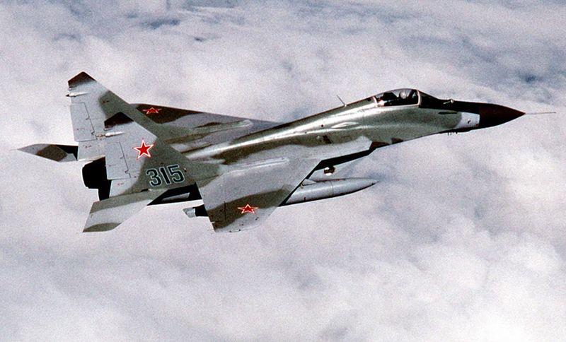 Максимальная скорость полета МиГ-29