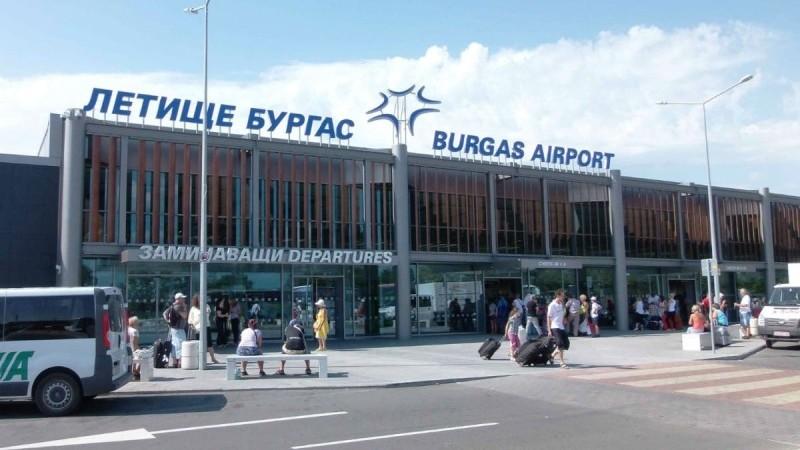 аэропорты Болгарии на карте