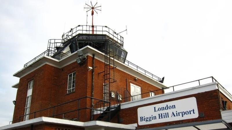 Аэропорт в Лондоне