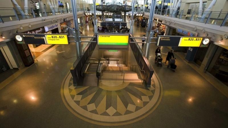 Схема аэропорта Кеннеди Нью-Йорк