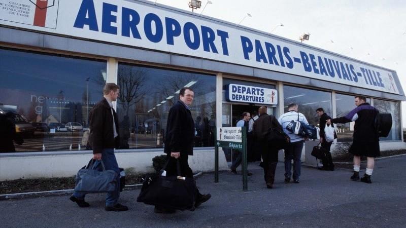 аэропорты Парижа на карте Парижа