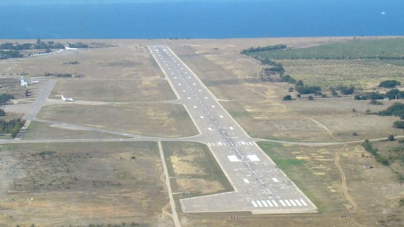 Взлетно-посадочная полоса аэропорта Бельбек