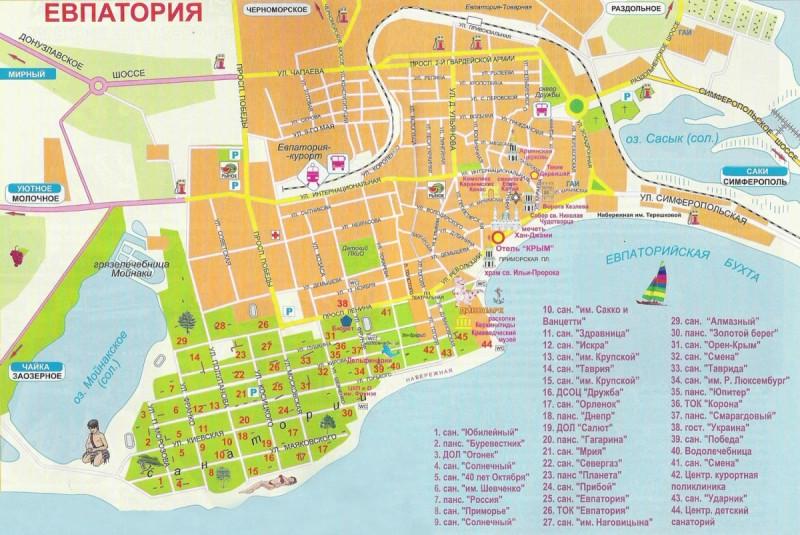 как добраться до Евпатории из Москвы на самолете
