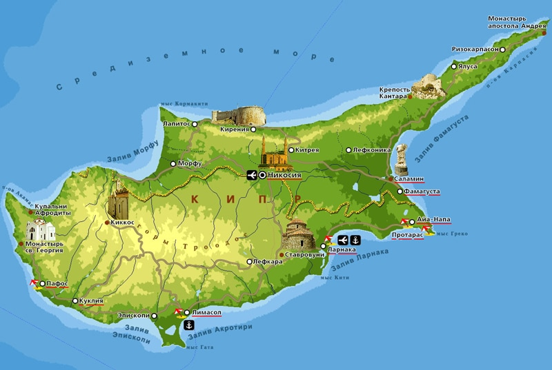 Сезон на Кипре когда лучше отдыхать