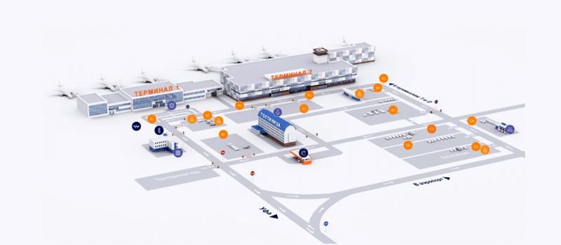 Официальный сайт аэропорта Уфы