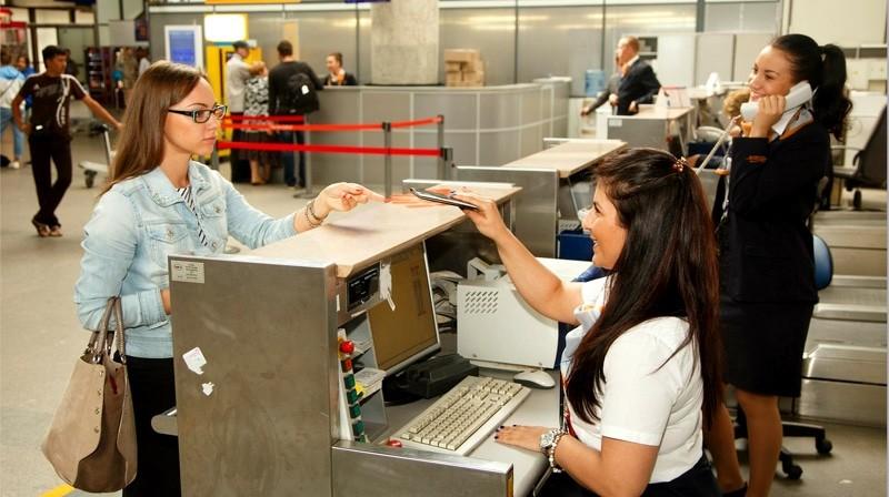 Регистрация на рейс Пулково