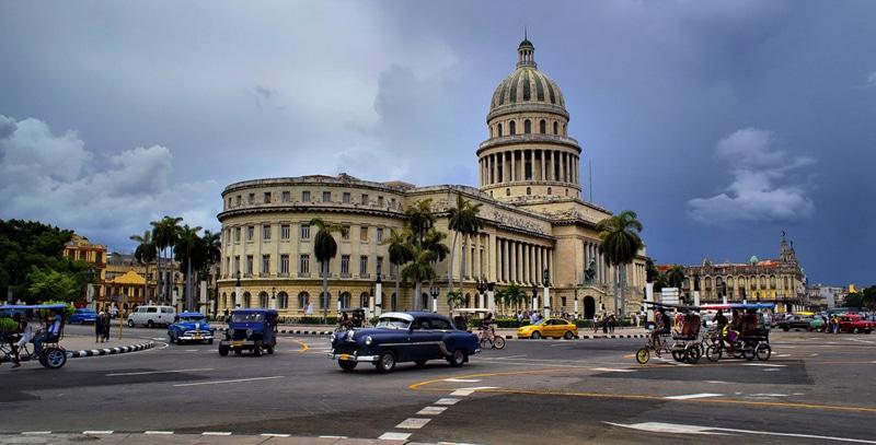 Время полета Москва - Гавана