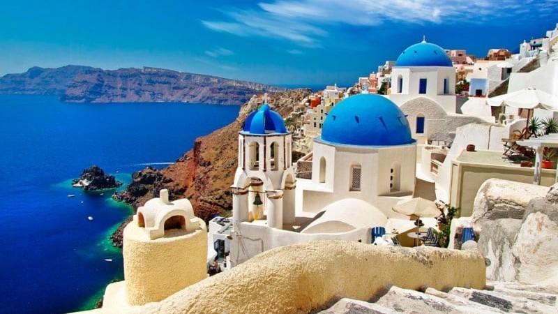 время полета Самара - Греция