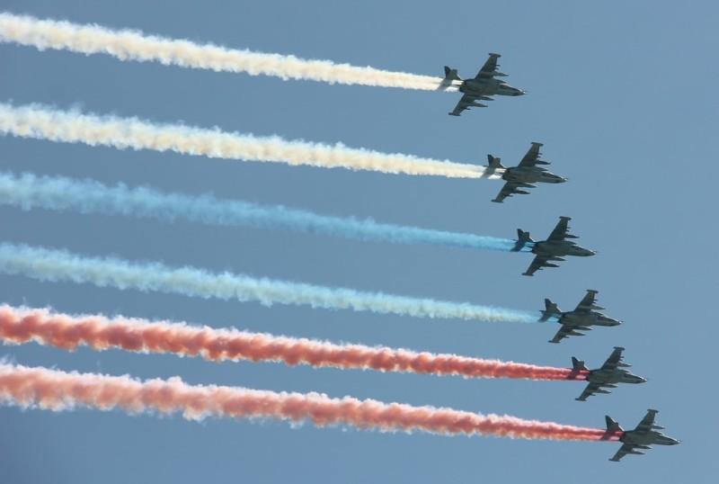 сколько военных самолетов у России