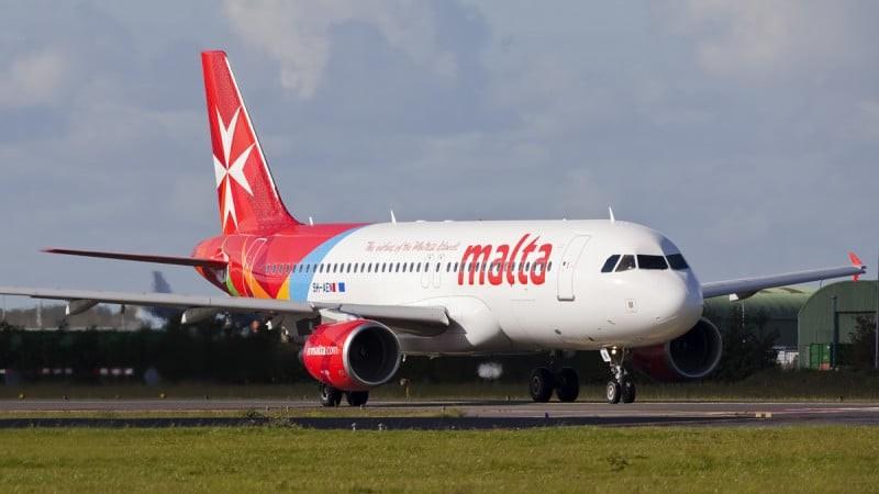 Аэропорт прилета на Мальте