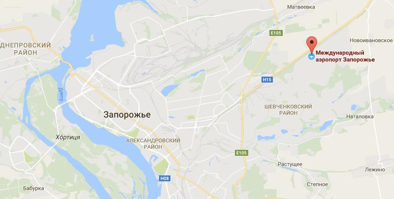 официальный сайт аэропорта Запорожье