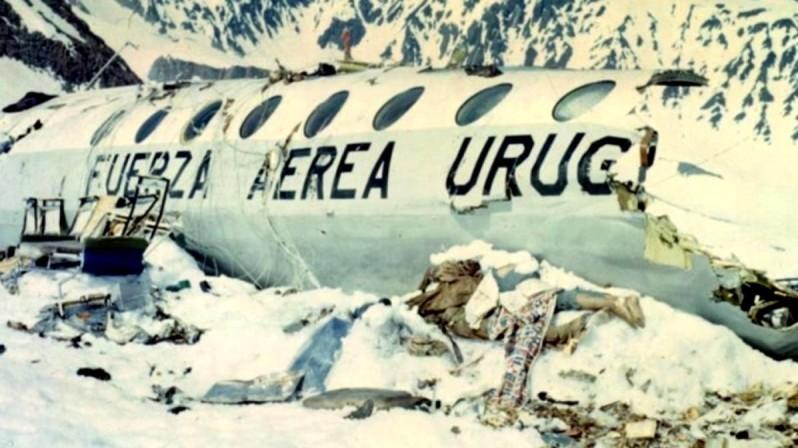 крушение самолета в Андах в 1972 году