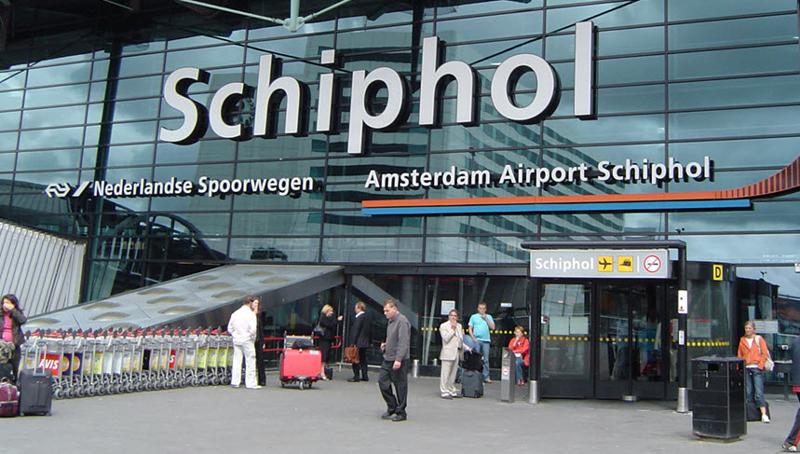 Доехать из аэропорта Амстердама до центра