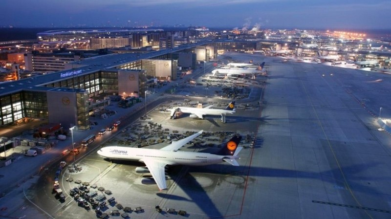как добраться из аэропорта Франкфурта до центра города