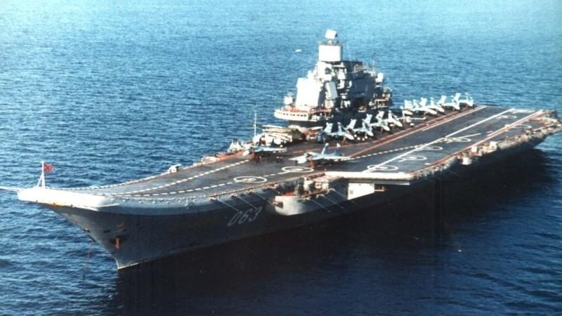 падение самолета с Адмирала Кузнецова