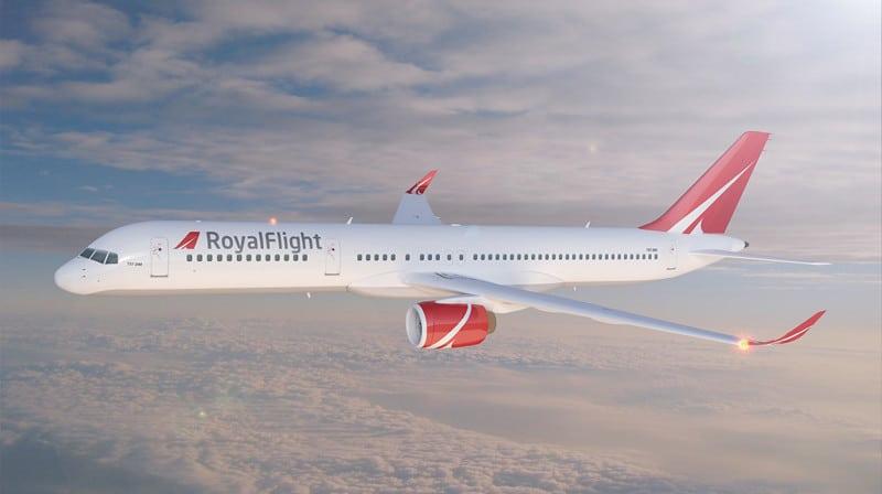 Боинг 757-200 схема салона лучшие места Роял Флайт