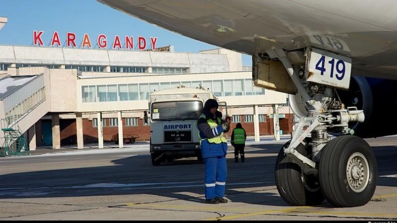В каком городе аэропорты в Казахстане