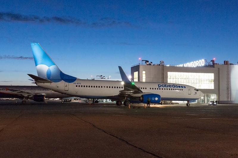 Куда можно улететь из Нижнего Новгорода прямым рейсом