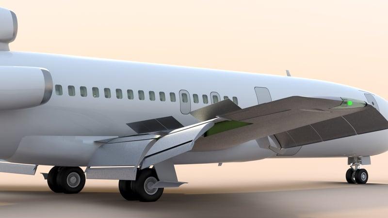 Механизация крыла самолета