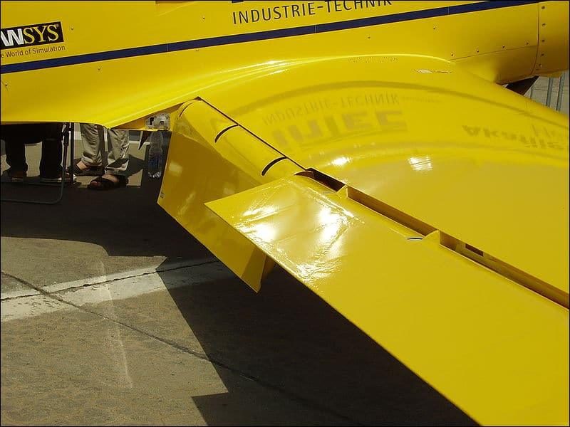 Виды крыльев самолета