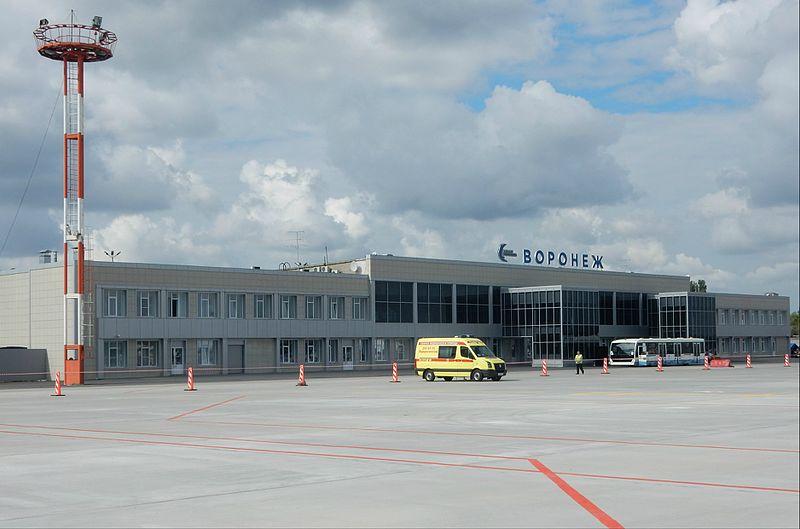 Карта аэропорта Воронежа