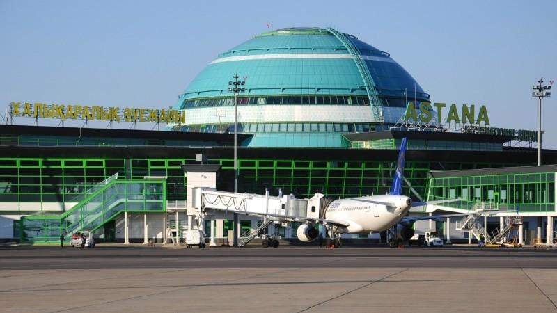 время полета Москва - Астана