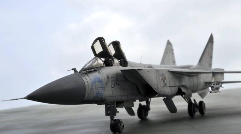 Максимальная скорость Миг-31