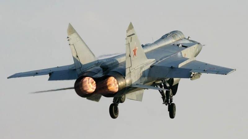 Высота полета Миг-31