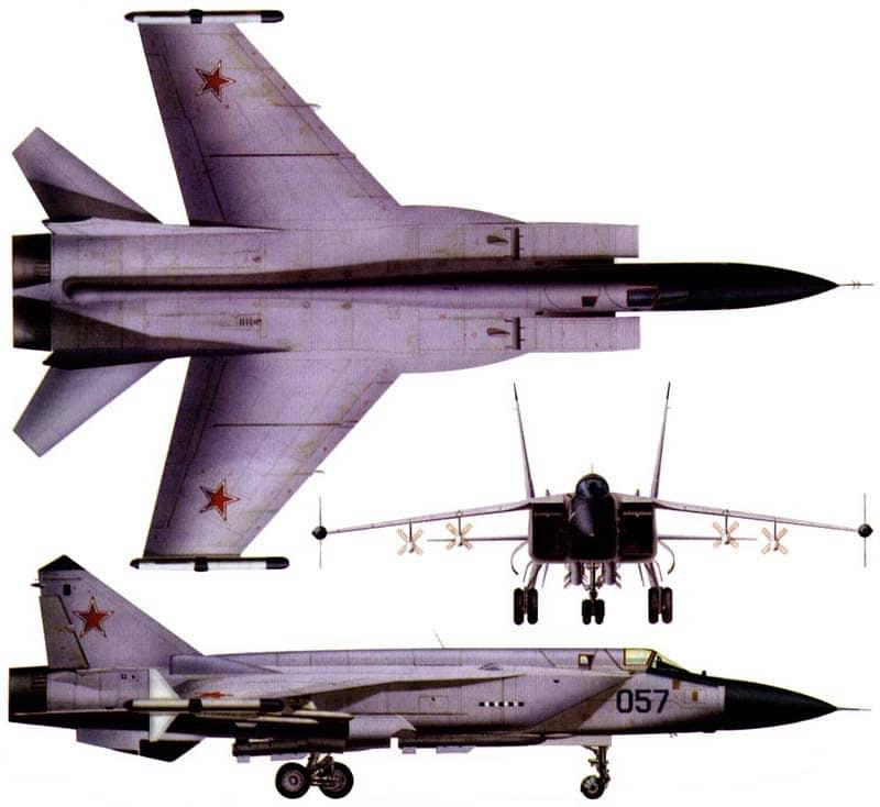 Миг-31 в Сирии