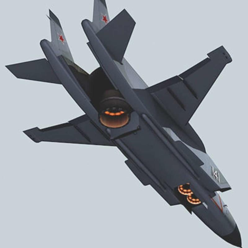 самолет вертикального взлета Як-141