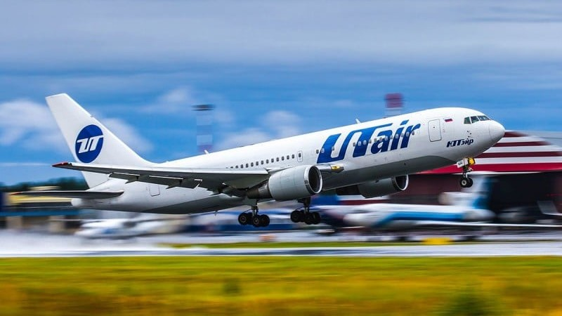 официальный сайт авиакомпании Ютэйр