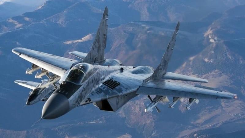 вертикальный взлет МиГ-29 видео