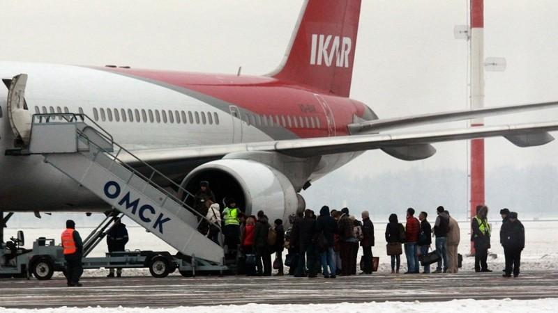 авиакомпания Икар отзывы пассажиров