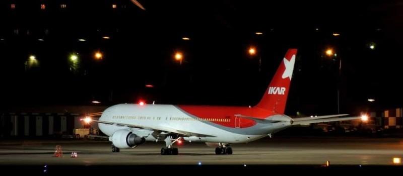 онлайн регистрация на рейс авиакомпании Икар