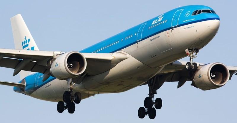 самолет KLM