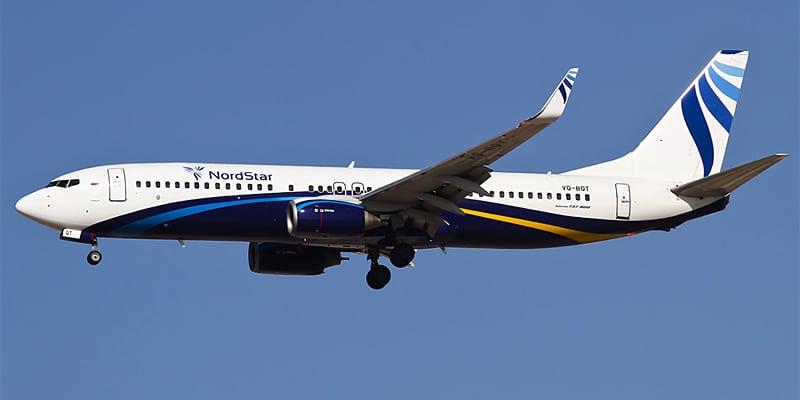 Официальный сайт авиакомпании Nordstar