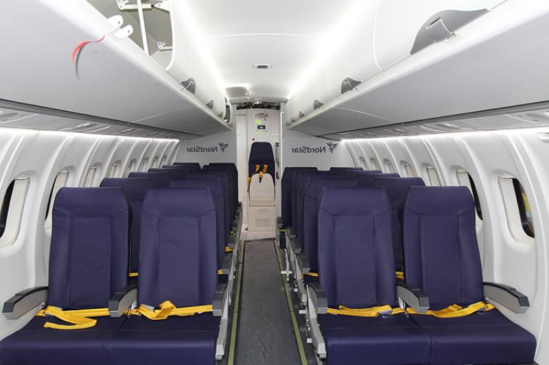 Парк самолетов авиакомпании Нордстар