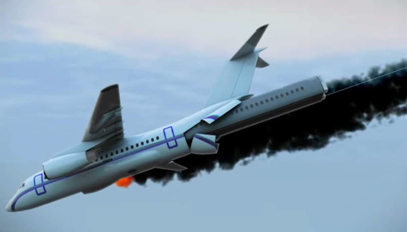 что делать если самолет падает