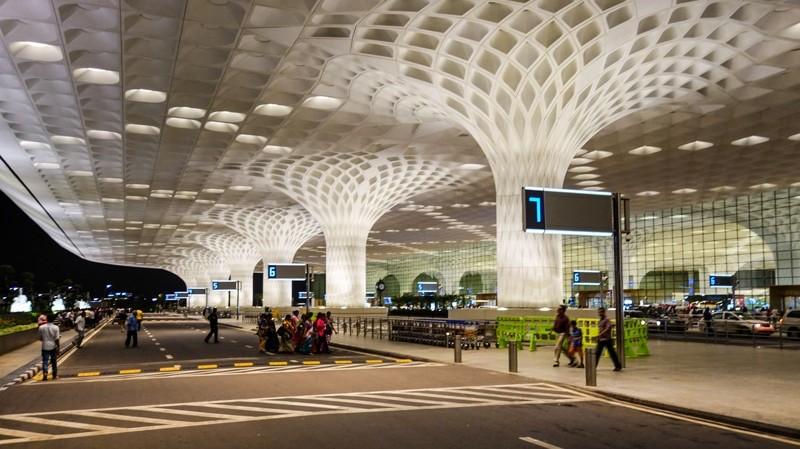 Аэропорты Индии на карте