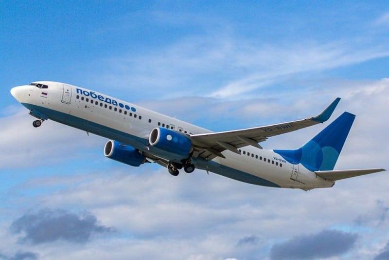 Фото самолетов авиакомпании Победа
