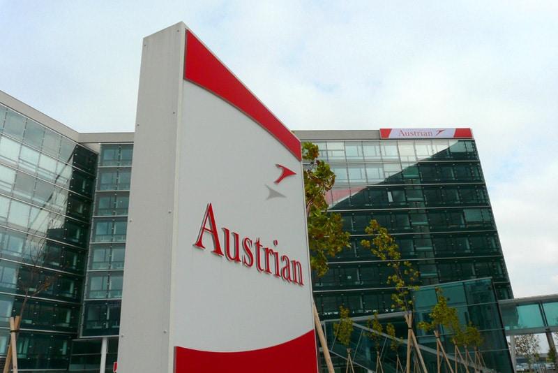 представительство Австрийских авиалиний в Москве