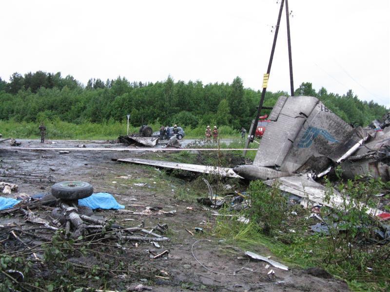Катастрофа ТУ-134 в Иванове
