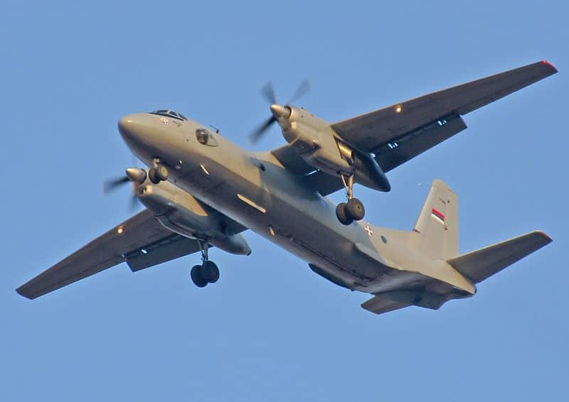Максимальная высота Ан-26