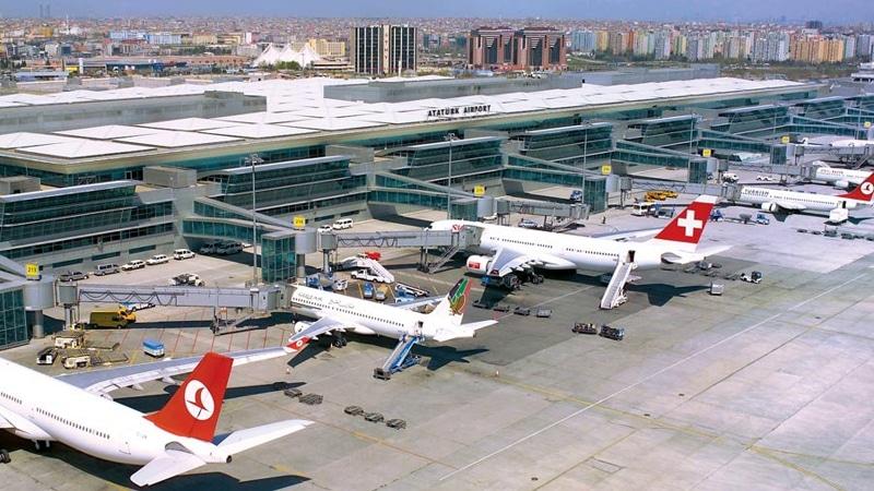 аэропорт Ататюрк Стамбул