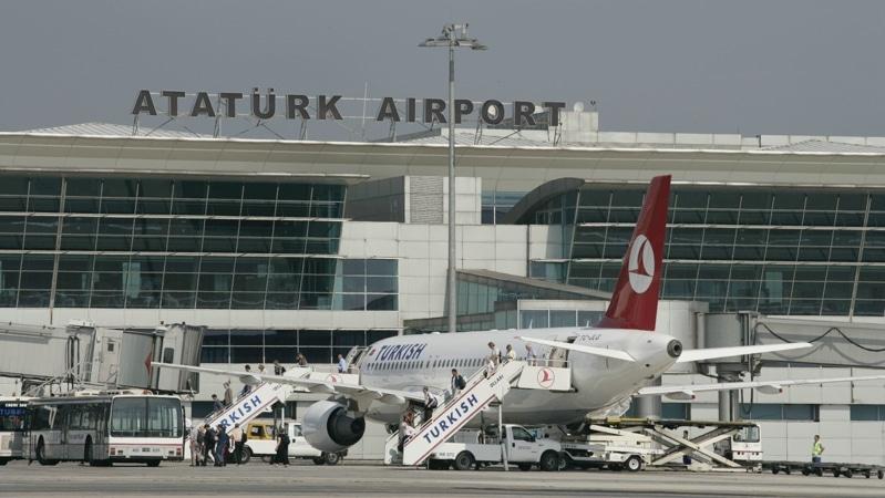 онлайн табло аэропорта Ататюрк Стамбул